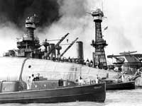 Rescue teams for the USS Oklahoma