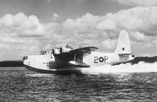 Short Sunderland -  British WWII flying boat