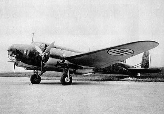 Fiat BR.20 Cicogna - WWII Italian twin-engine bomber