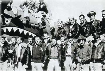 Flying Tigers personel of the American Volunteer Group