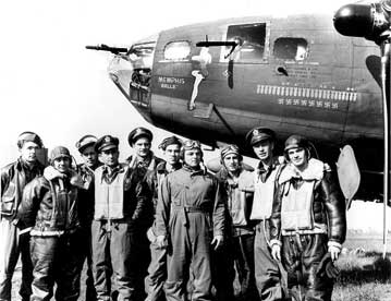 Memphis Belle and crew