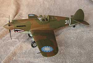 P40 model with American Volunteer Group colors