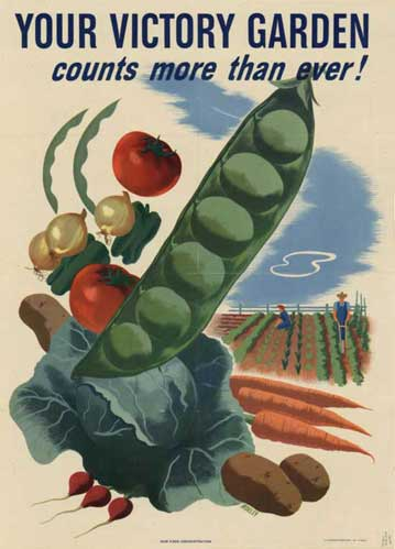 WWII poster: Victory Garden