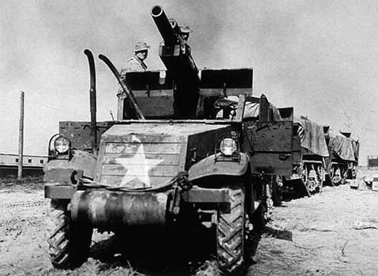 105mm Howitzer Motor Carriage T19