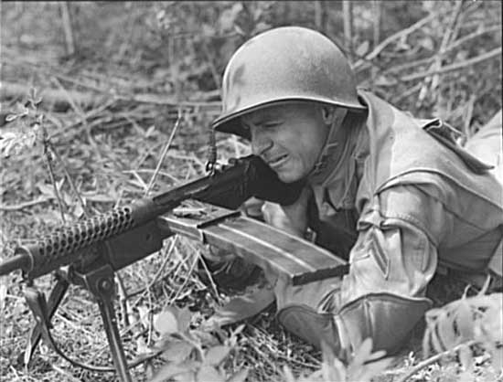 Johnson LMG - M1941 machine gun